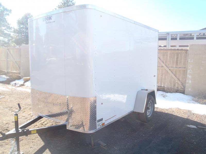 Damaged 6x10 ST Enclosed Trailer Ramp Door