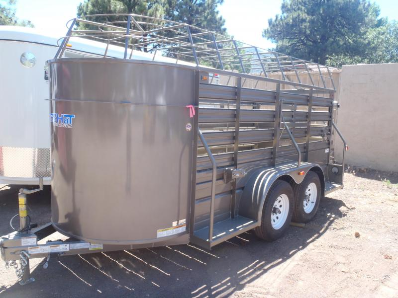 5x14 Bar Top Stock Trailer made byTop Hat Trailers
