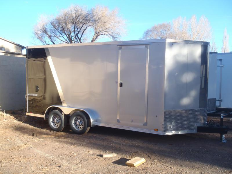 7X16 Upgraded Enclosed Cargo / Enclosed Trailer