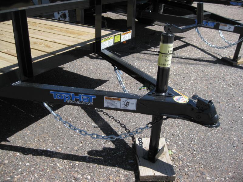 6X12 Utility Trailer Angle Rail and Ramp Gate