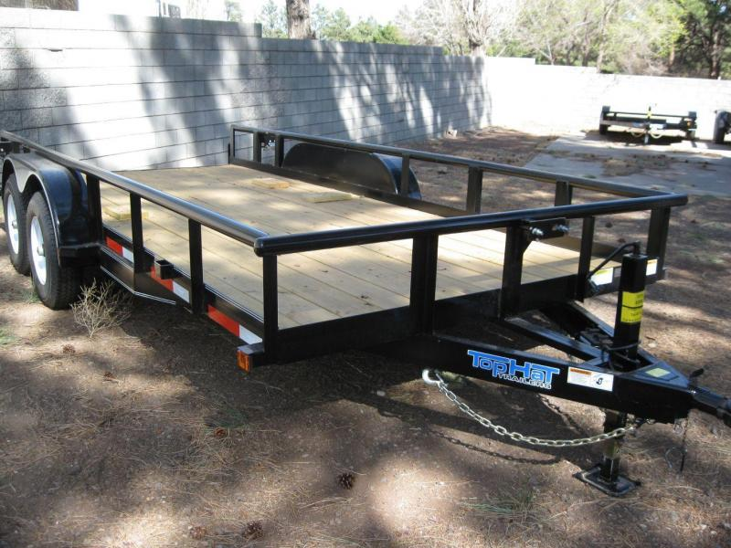 83 X 18 10K Pipe Rail Trailer Utility Trailer in Ashburn, VA