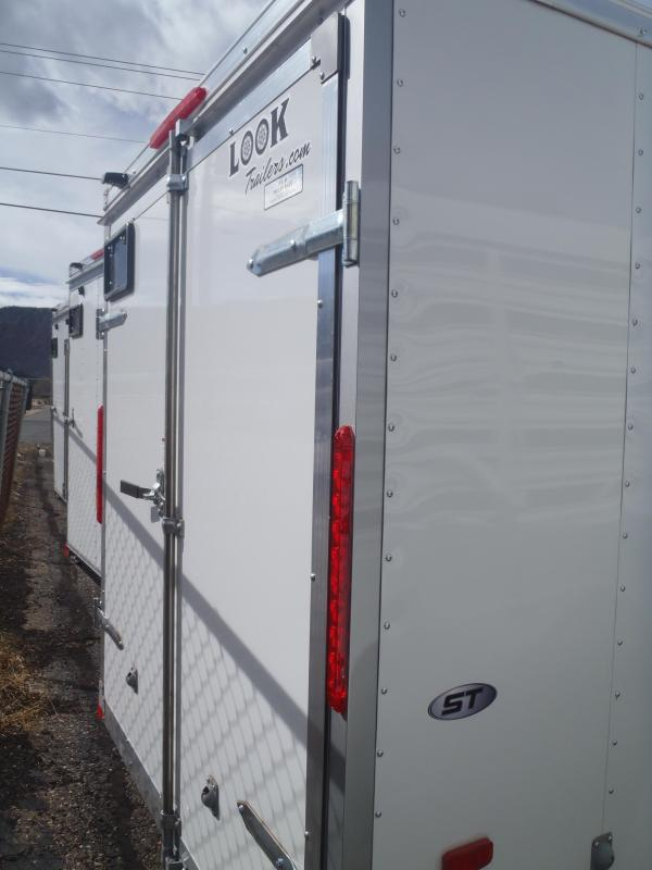 6x10 ST Enclosed Trailer Barn Doors NO SIDE DOOR