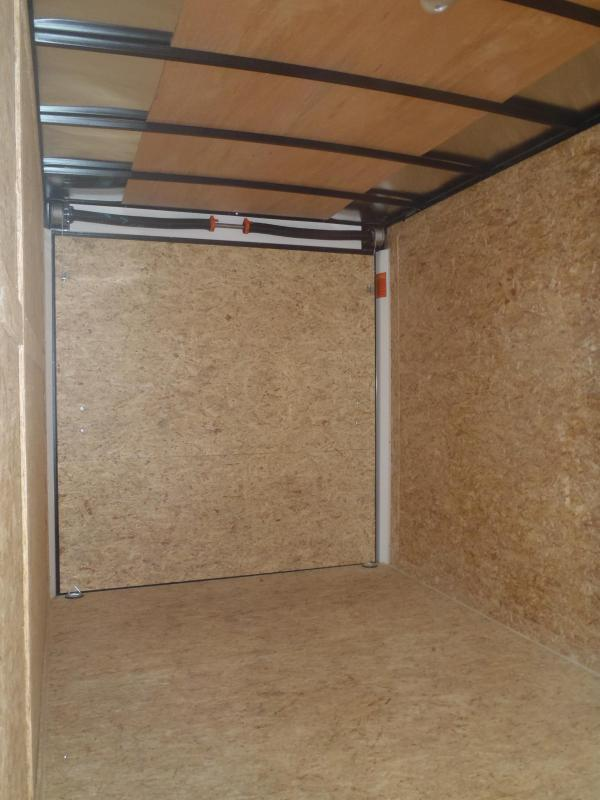 7X14 ST Cargo Enclosed Cargo 7' Tall Ramp