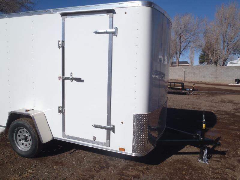 6x12 ST Enclosed Trailer Ramp Door