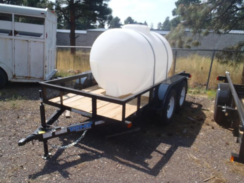 Water Trailer 5x10 Tandem Axle pipe Rail Utility Trailer