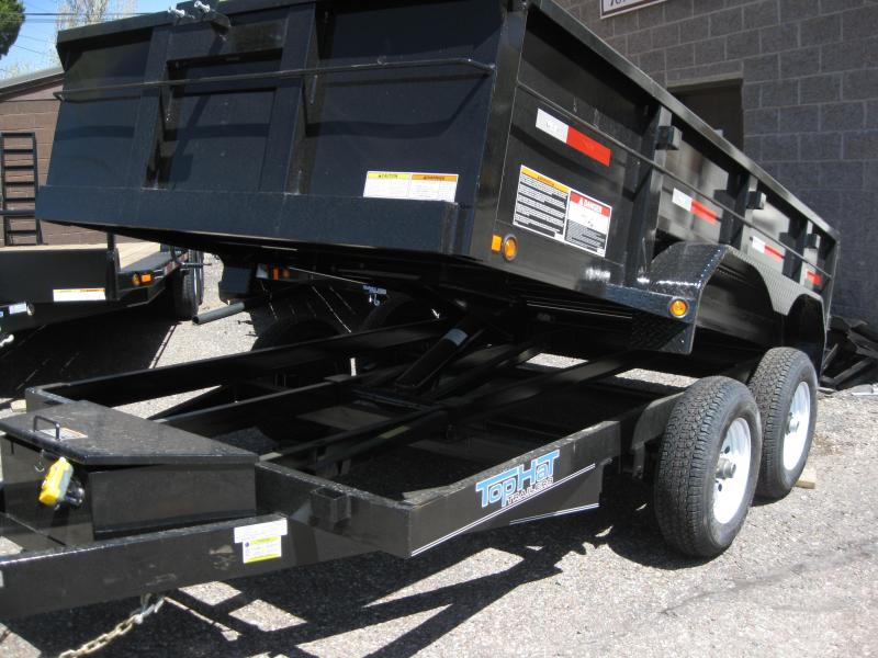 6.5X10 Dump Trailer with tarp 10000# GVW