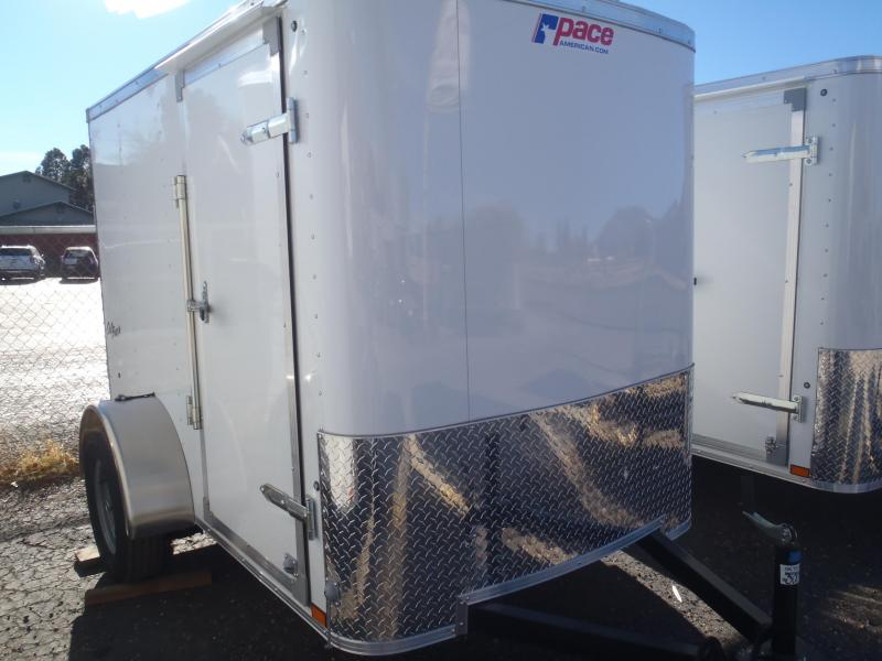 5x8 ST Enclosed Trailer and Ramp Door