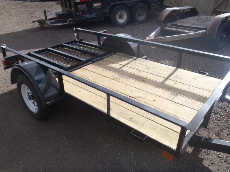 4.5X9 Utility Trailer with Ramp Gate