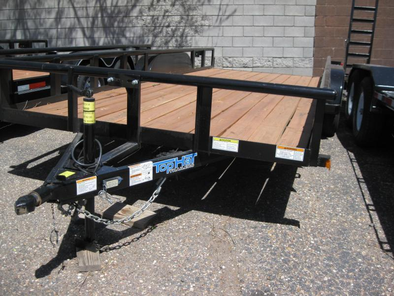 83X18 Utility Trailer with Pipe Rail and 4' Pull-out ramps  in Ashburn, VA