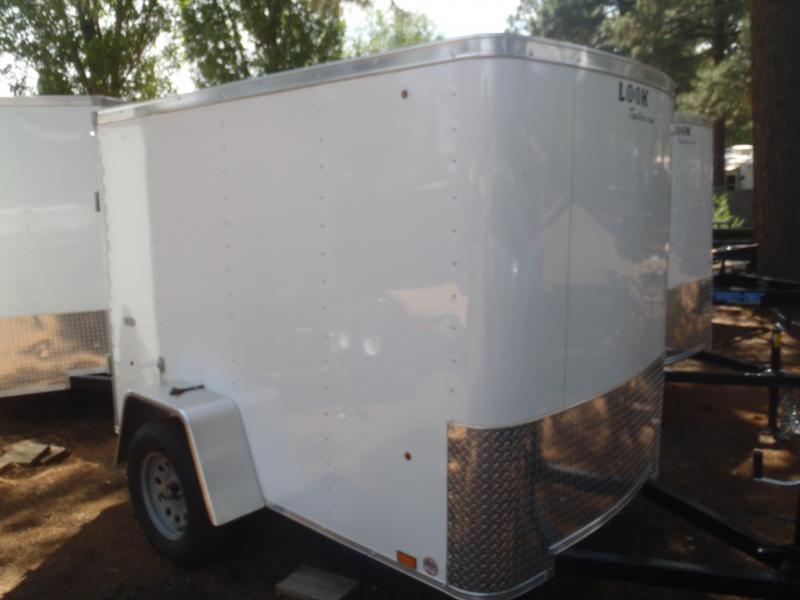 5x8 ST Enclosed Trailer Single Rear Door