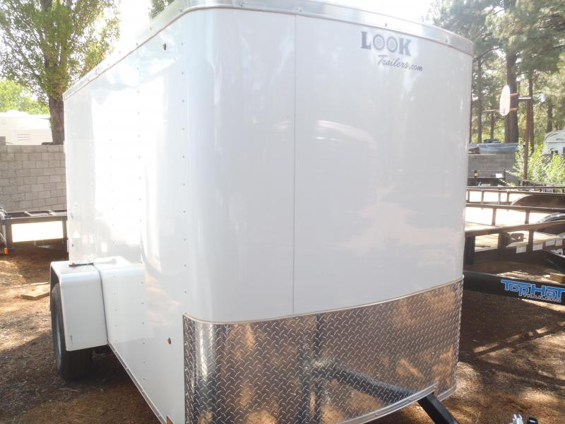 5x10 ST Enclosed Trailer and Barn Doors