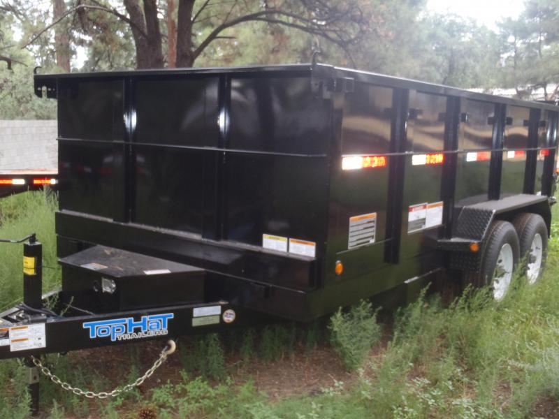 7' X 14' 14000 lb G.V.W. Dump Trailer 3' Sides in Ashburn, VA