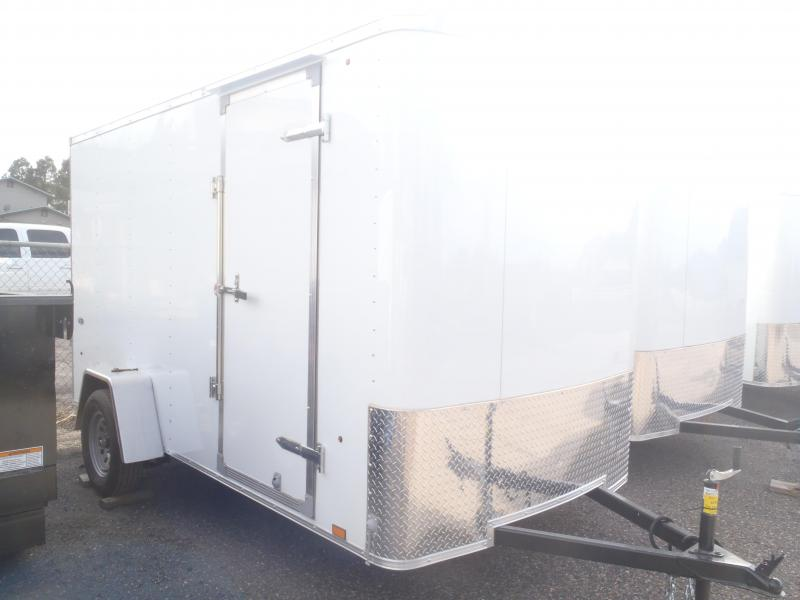 "6x12 ST Cargo Ramp Side Door 6'6"" Tall"