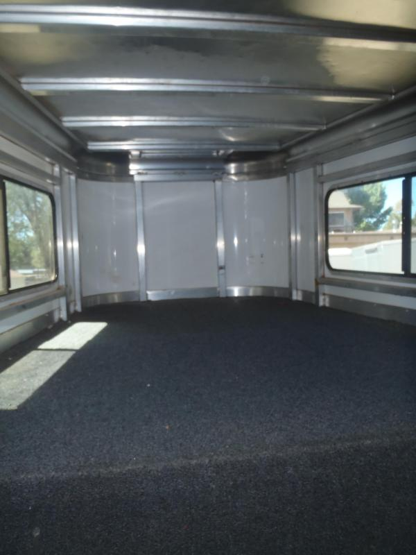 2013 S and H 3 Horse slant Gooseneck Horse Trailer