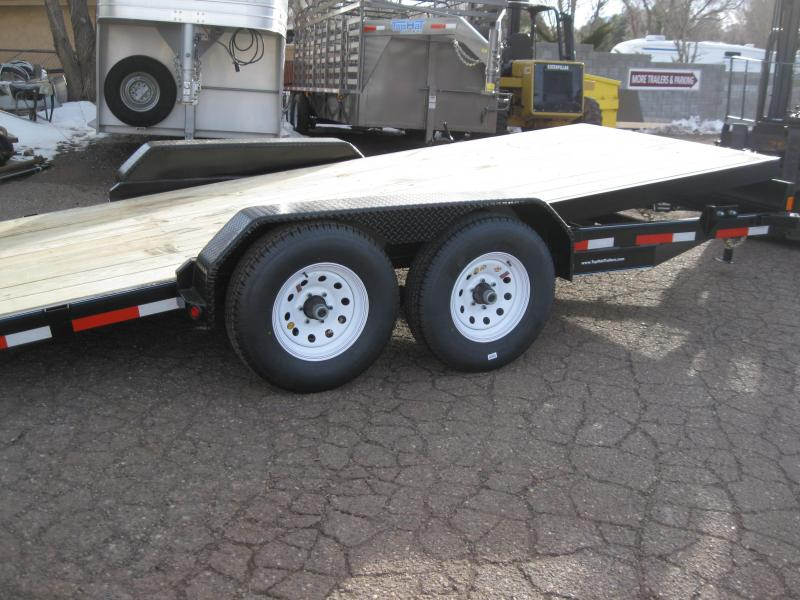 83X20 Tilt Carhauler 10000# GVW Equipment Hauler