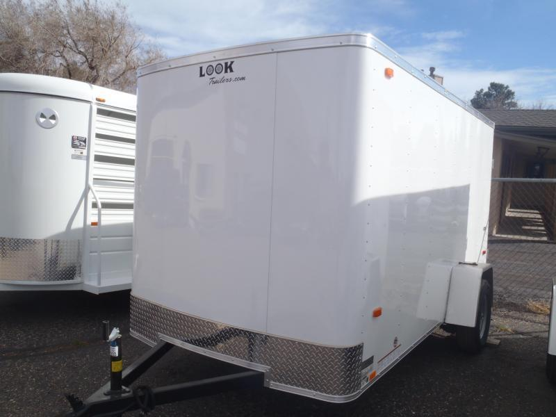 6x12 ST Enclosed Trailer Barn Doors