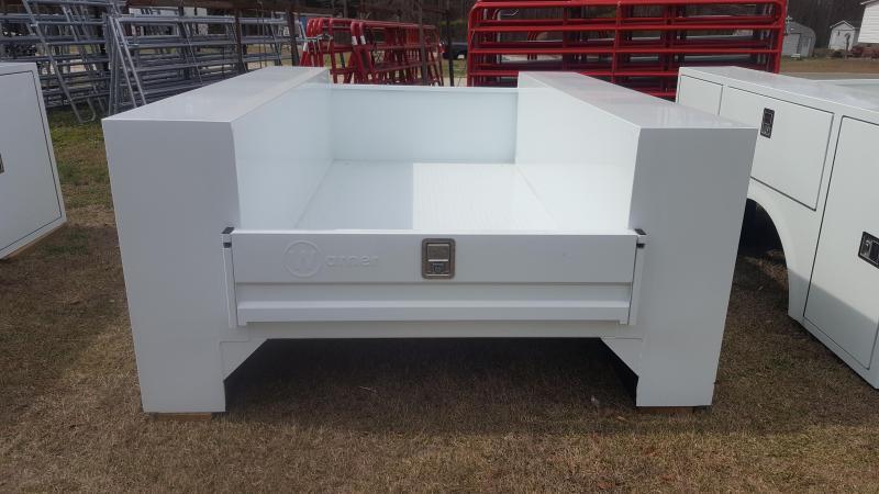 2018 Warner Service Body Truck Bed