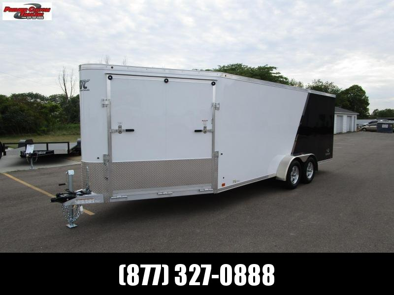 2019 RAVEN 24' ENCLOSED SNOWMOBILE/UTV TRAILER w/SNOW PACKAGE in Ashburn, VA