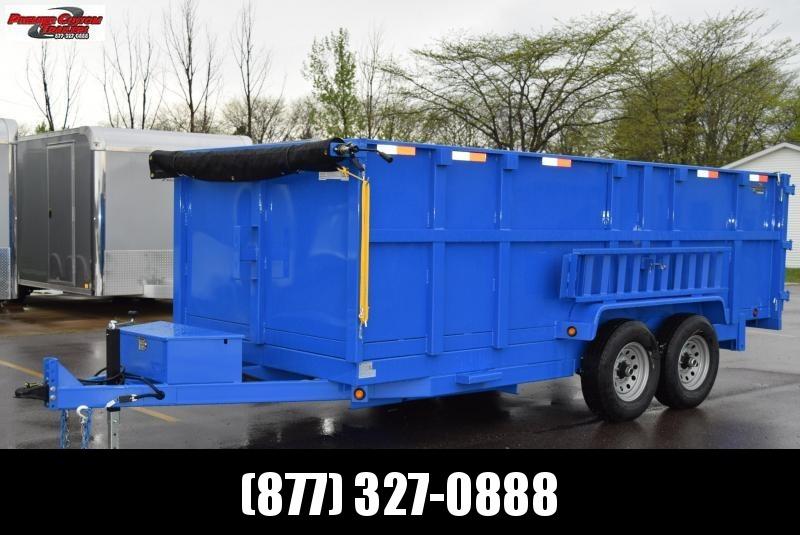 2019 GRIFFIN 83 X 14 14K Low Pro Dump Trailer in Ashburn, VA