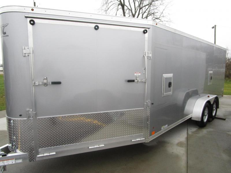 2018 7x24 ATC ALL ALUMINUM RAVEN SNOWMOBILE TRAILER