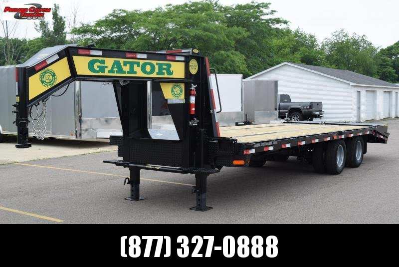2019 GATORMADE 20'+5' ELITE GOOSENECK HEAVY EQUIPMENT TRAILER in Ashburn, VA