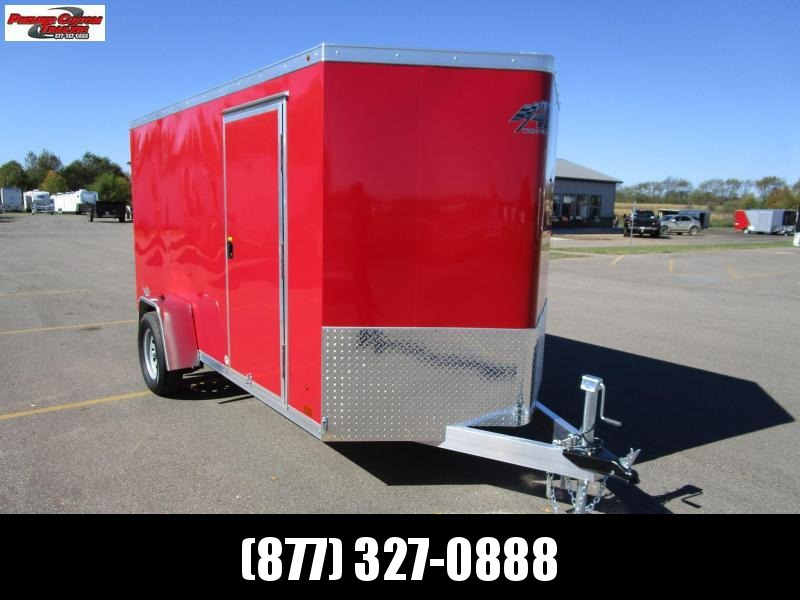 2019 ATC ALL ALUMINUM 6x12 CARGO TRAILER in Ashburn, VA