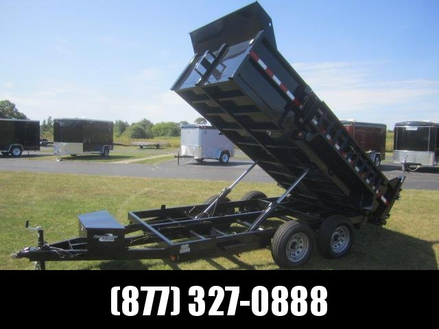 2019 GRIFFIN 72 X 12 10K Low Pro Dump Trailer