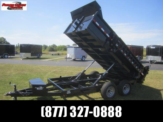 2019 GRIFFIN 72 X 12 10K Low Pro Dump Trailer in Ashburn, VA