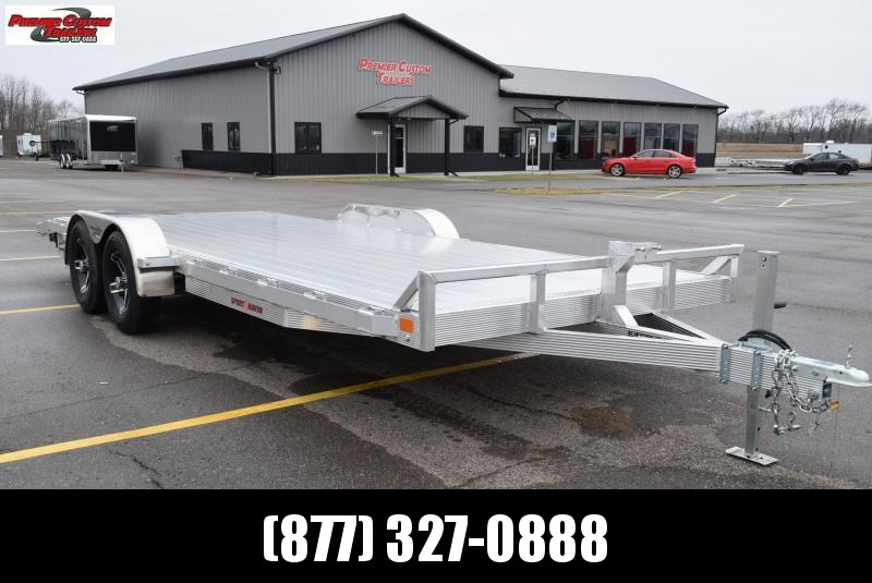 2019 SPORT HAVEN 20' DELUXE ALUMINUM OPEN CAR HAULER in Ashburn, VA