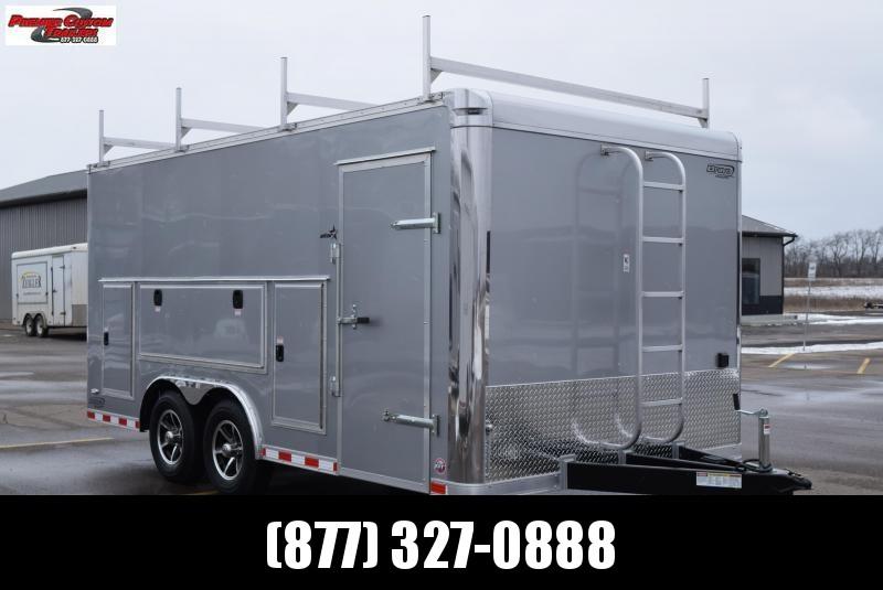 2019 BRAVO 8.5x16 PREMIER CONTRACTORS TRAILER in Ashburn, VA