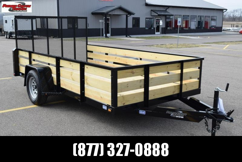 "2019 NATION 6'4""x10 FIXED SIDE OPEN UTILITY TRAILER in Ashburn, VA"