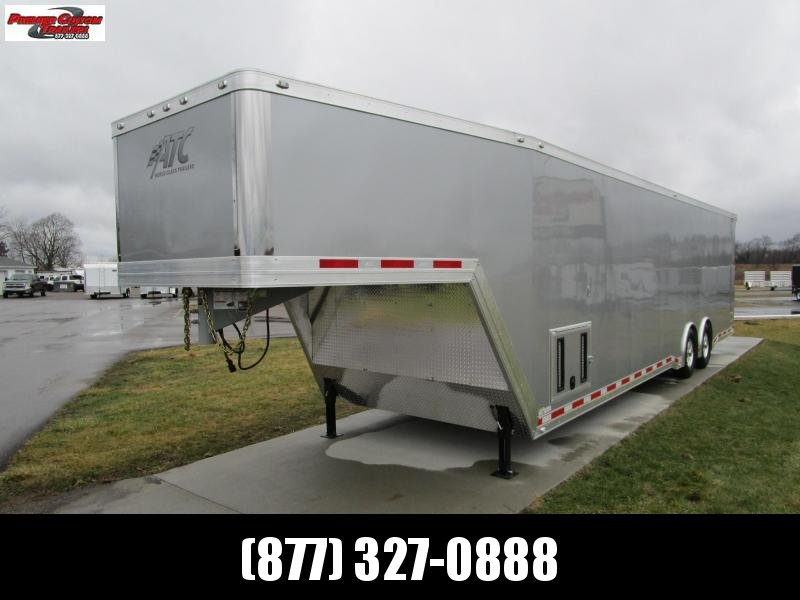 2019 ATC 38' ALL ALUMINUM GOOSENECK RACE HAULER w/CH305 in Ashburn, VA