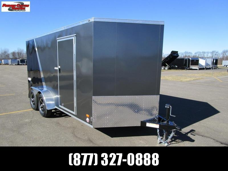 2019 BRAVO 7x14 ENCLOSED MOTORCYCLE TRAILER in Ashburn, VA