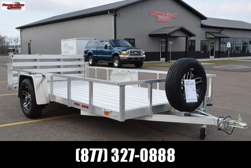 2019 SPORT HAVEN 6x12 DELUXE SERIES UTILITY TRAILER