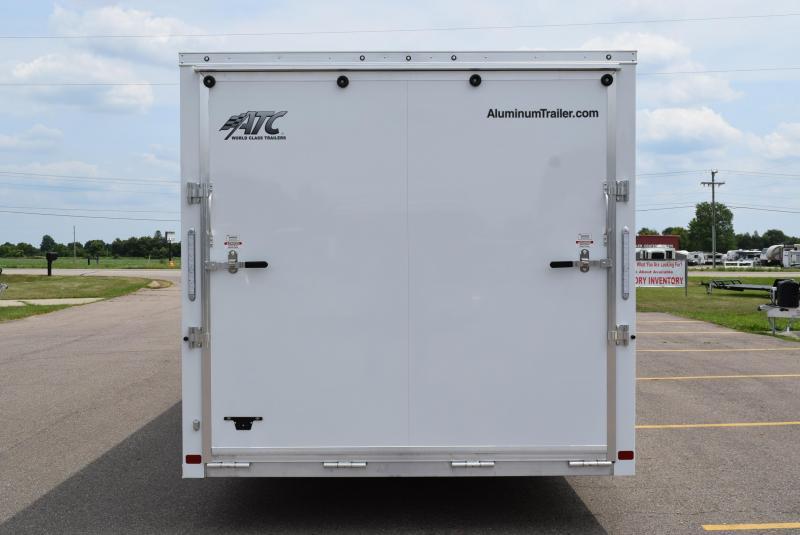 2020 ATC ALL ALUMINUM 8.5x28 RAVEN CAR HAULER