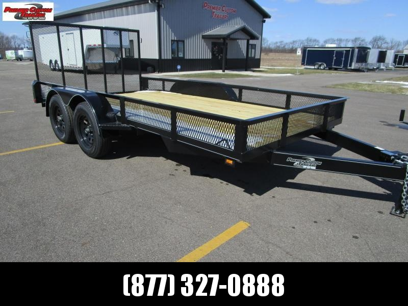"2019 82""x14' OPEN LANDSCAPE TRAILER by NATION TANK & TRAILER in Ashburn, VA"