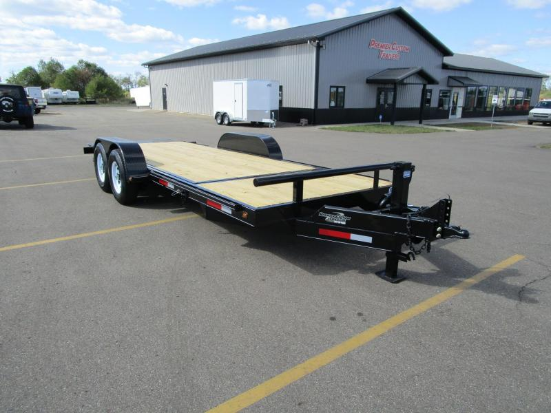 2019 NATION 21' TILT BED EQUIPMENT TRAILER