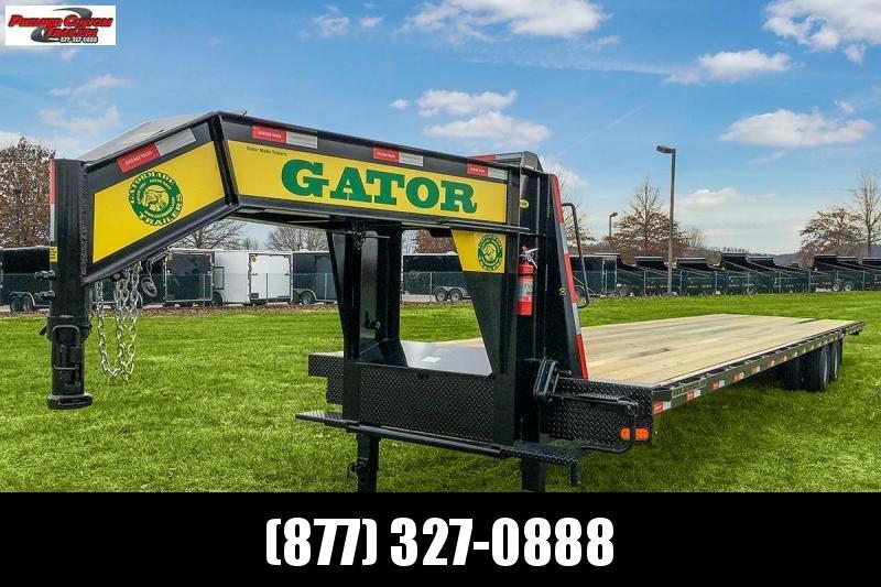 2019 GATORMADE 40FT HOTSHOT 24.9K GOOSENECK EQUIPMENT TRAILER in Ashburn, VA