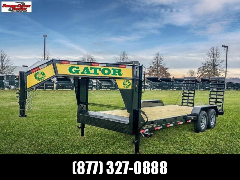 2019 GATORMADE 18+2 TANDEM 16K  LOW PRO GOOSENECK HEAVY EQUIPMENT TRAILER in Ashburn, VA