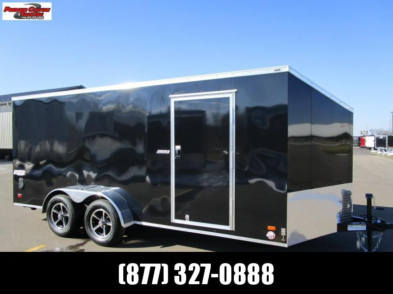 2019 BRAVO SCOUT 7x16 ENCLOSED MOTORCYCLE TRAILER in Ashburn, VA