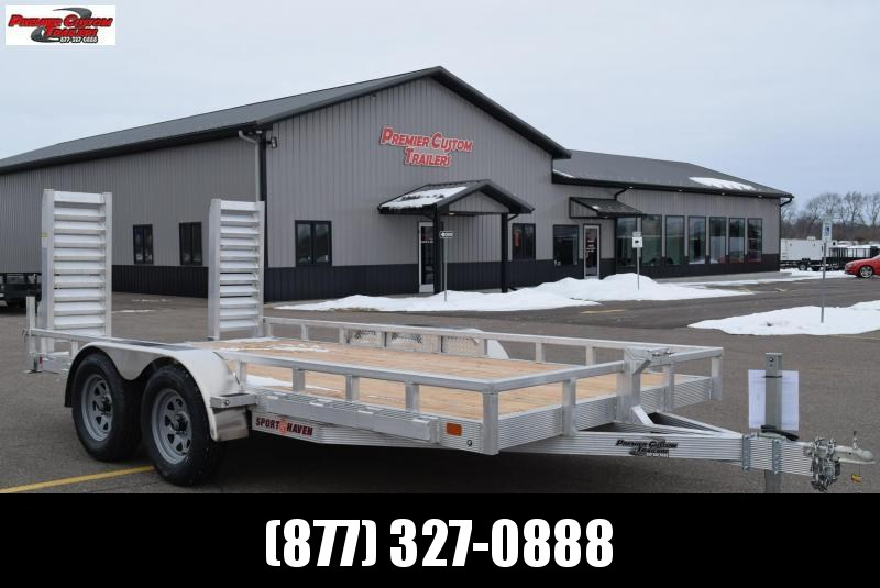 2019 SPORT HAVEN 7x14 HEAVY DUTY UTILITY TRAILER in Ashburn, VA