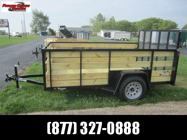 "2019 NATION 6'4""x10' OPEN UTILITY TRAILER w/4 BOARD SIDES in Ashburn, VA"