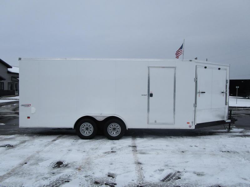 2018 BRAVO SCOUT 23' ENCLOSED SNOWMOBILE TRAILER