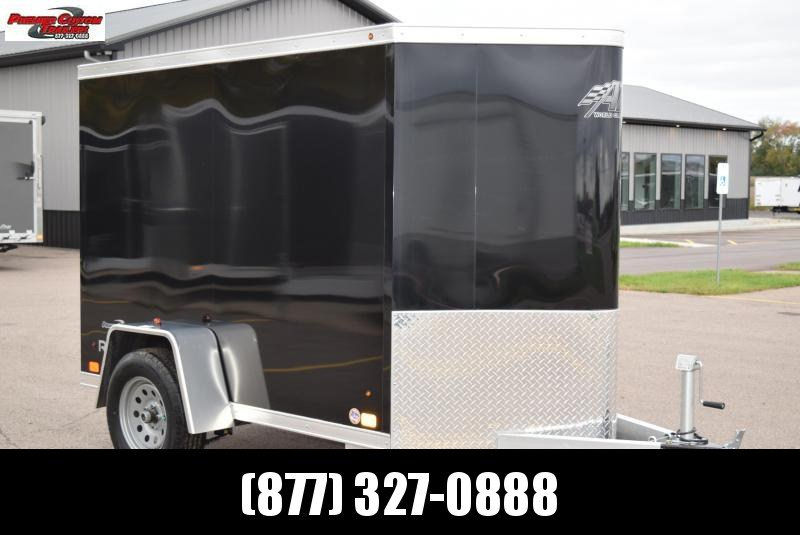 2019 ATC ALL ALUMINUM 5x8 CARGO TRAILER