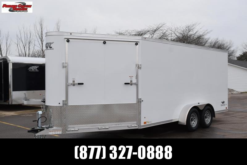 2019 RAVEN 22' ENCLOSED SNOWMOBILE/UTV TRAILER in Ashburn, VA