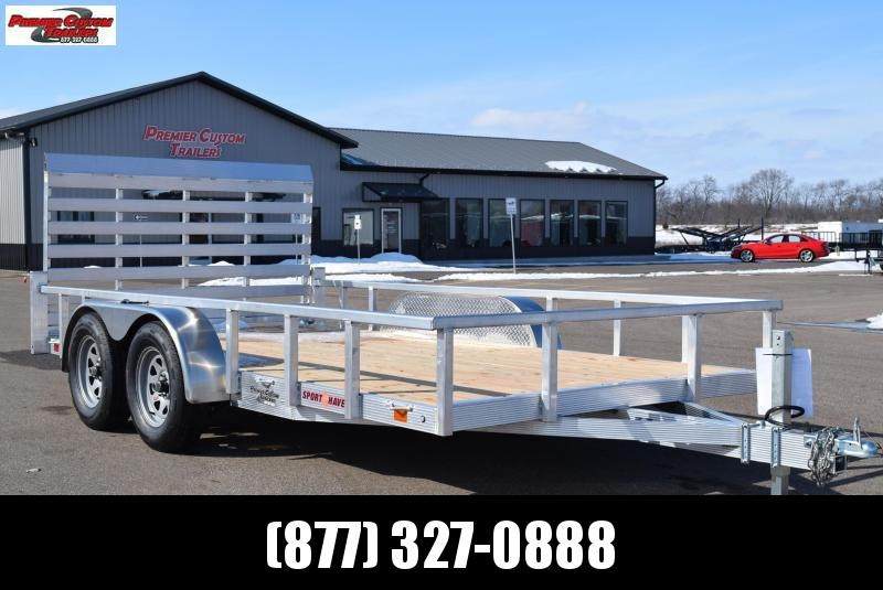 2019 SPORT HAVEN 7x14 OPEN UTILITY TRAILER in Ashburn, VA
