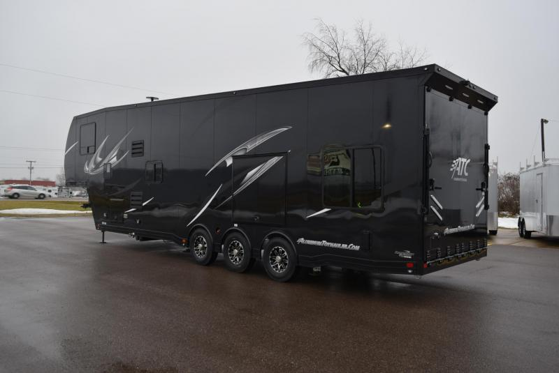 2019 ATC ALL ALUMINUM 8 5x40 5TH WHEEL TOY HAULER | Custom