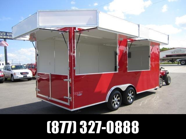 2018 8x18 COMMERCIAL VENDING TRAILER