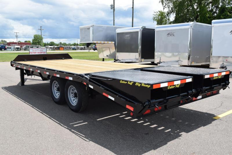 2019 GATORMADE 16'+5' PINTLE 14K EQUIPMENT TRAILER