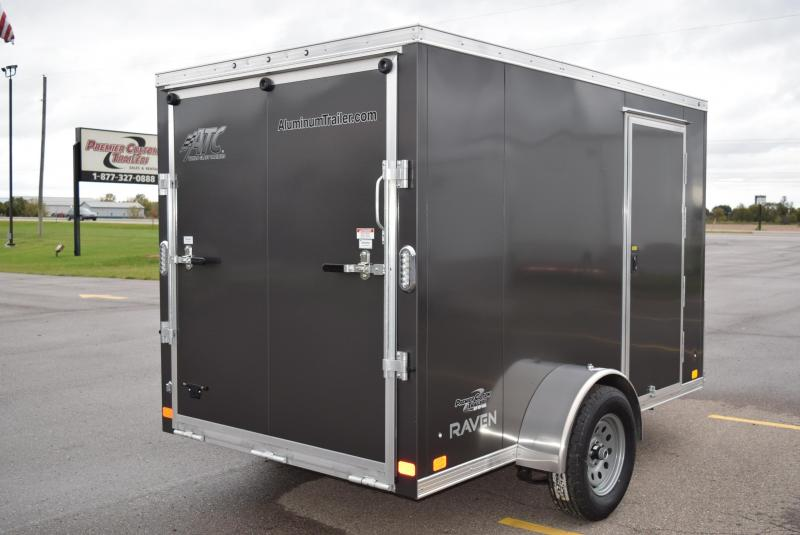 2020 ATC ALL ALUMINUM 6x10 CARGO TRAILER